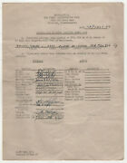 1950 Otis Air Force Base Document Military Afb 33rd Fighter Wing Bailey Officers