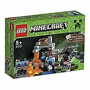 Minecraft The Cave 21113 Playset W/ Lego Minifigures Steve And Zombie