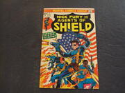 Nick Fury And His Agents Of Shield 2 Apr '73 Bronze Age Marvel Comics Id53527