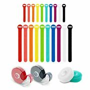 Self-gripping Cable Ties And Perforated Rolls - Assorted 24 Pack