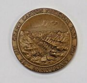 1969 Grand Canyon 50th Anniversary Bronze Medal Seal Of The State Of Arizona