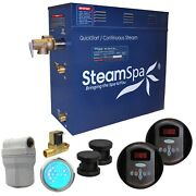 Steamspa Royal 10.5 Kw Quickstart Steam Bath Generator Package With Built-in ...