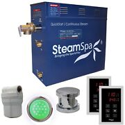 Steamspa Ryt750ch Royal 7.5kw Touch Pad Steam Generator Package - Chrome