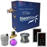 Royal 7.5 Kw Quickstart Steam Bath Generator Package With Built-in Auto Drain...