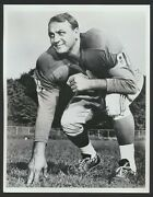1950's Andy Robustelli Detroit Lions Vintage Football Photo