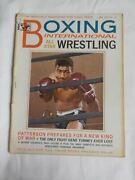 Vintage 1965 Boxing Illustrated Floyd Patterson Cover Rare Rocky Graziano