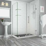 Aston Sen962ez-ch-663238-10 Bromley Gs Frameless Hinged Shower Enclosure With...