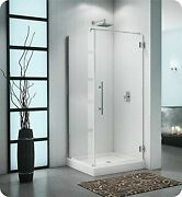 Pxq3636-25-40l-rd-79 Fleurco Platinum Cube Shower Door With Return Panel Wall...