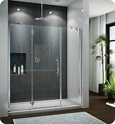 Pxtp64-25-40l-qb-79 Fleurco Platinum In Line Door And 2 Panels With Glass To ...