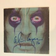 Alice Cooper From The Inside Lp Hand Signed Autographed Lp Album Record