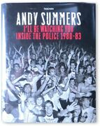 Police Band Signed Autographed Hardcover Book Sting Copeland Summers Jsa Bb40613