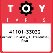 41101-33032 Toyota Carrier Sub-assy, Differential, Rear 4110133032, New Genuine