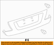 76801-50040-a1 Toyota Garnish Sub-assy Luggage Compartment Door Outside 768015
