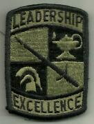 Us Army Regular Officers Training Corps Leadership Excellence Subdued Ssi