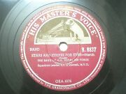 The Band Of H M Royal Air Force B 8837 India Indian Rare 78 Rpm Record 10 Vg+