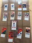 Collectors Lot / Collection Of Denver Broncos Nfl Tickets And Ticket Stubs Fsbo