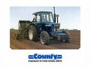 County Tractor 6600-four 7600-four Operations Maintenance Repair And Parts Manuals