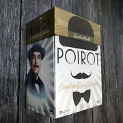 Agatha Christieand039s Poirot Complete Series Collection 33 Dvd Seasons Delux Box Set