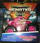 Monster Jam 164 Monster Mutt Poodle - Series 10 - Pink - New And Sealed