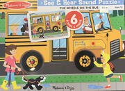 Melissa And Doug See And Hear Sound Puzzle
