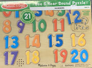 Melissa And Doug See And Hear Sound Puzzle Numbers