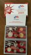 2005-s Us Mint Silver Proof Set In The Original Us Mint Packaging