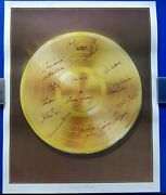 Legendary Stars Of Country Music Multi-signed 24x30 Lithograph 18 Autographs
