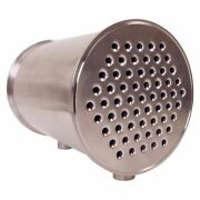 Condenser | Tri Clamp 8 Inch X 12 In And 1/2 In Tubes Fnpt 3/4 In - Ss304 2 Pack