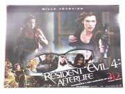 Resident Evil 4 Afterlife Milla Jovovich 2010 6pc English Lobby Card India 16x11