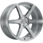 4 Staggered 20x10 / 20x11 Rsr Forged R901 Silver 5x4.5 +35/+50 Wheels Rims