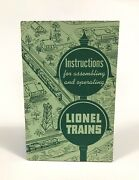 Vintage 1951 Lionel Instructions For Assembling And Operating Lionel Trains