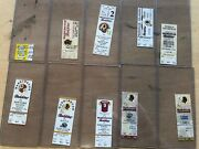 Collectors Lot / Collection Of Nfl Washington Redskins Tickets Ticket Stubs Fsbo