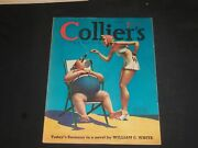 1940 July 6 Collierand039s Magazine - Todayand039s Germany - Coca-cola Ad On Back- Sp 8283