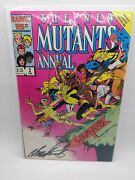 The New Mutants Annual 2 Jan 1986, Marvel Signed By Chris Claremont
