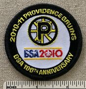 2010 Providence Bruins Boy Scout Patch Ahl Hockey - Bsa 100th Anniversary