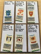 Collectors Lot Collection Of Rare Nfl Seattle Seahawks Tickets Ticket Stubs Fsbo