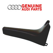 Genuine Front Lower Rear View Mirror Cover Black For Audi A4 A5 Quattro S4 S5