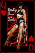 315260 Bettie Page Queen Of Hearts Pinup Betty Icon Wall Print Poster Ca