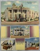 Lot Of 2 Postcards Of Colonial Hotel And Apartments Fort Worth Texas Camp Bowie