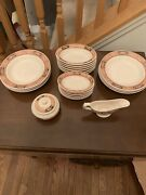 Vintage Assorted Set Ivory Lamberton Scammell China