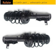 Fits 2014 2015 16 Chevrolet Malibu Front Pair Complete Quick Strut Coil Assembly