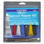 Evercoat Fiberglass Resin Marine Gelcoat Repair Kit Boat Hull - 108000