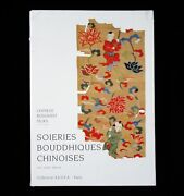 Book Antique Chinese Buddhist Silk Textiles Embroidery Weaving China Sutra Kesa