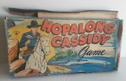 Vintage Milton Bradley Hopalong Cassidy Game 4047 From 1950 In Original Box