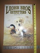 Used Yellow Lab Puppy Decoy Metal Sign 596 Leohr Bros Outfitters Duck Hunting