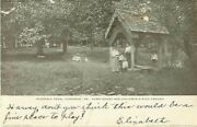 Perkasie Park Pennsylvania Pump House And Children's Play Ground Unposted Postcard