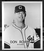 Columbus Jets Team Photo 1960s Don Rowe Pitcher Major League Ny Mets 1963
