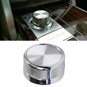For Range Rover L405 Autobiography Style Rotary Gear Shift Selector Knob Chrome