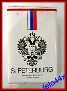 Empty Cigarette Pack St. Petersburg - Early 1990s