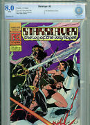 Starslayer Issue 5 Cbcs 8.0 1983 Pacific First Comic 2nd Groo Amricons B16
